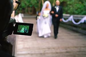 outdoor wedding cinematography